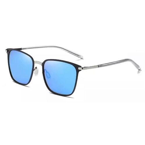 Óculos de Sol Masculino Dublin - Silver/blue
