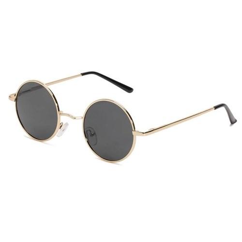 Óculos de Sol Masculino Moscovo Retrô - Black/gold