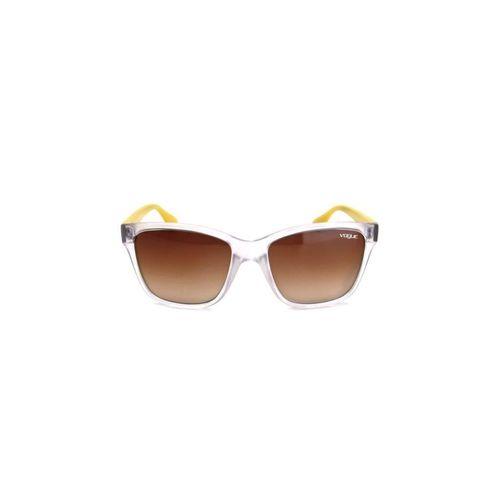 Oculos de Sol Masculino Vogue Policarbonato Degradê Marrom
