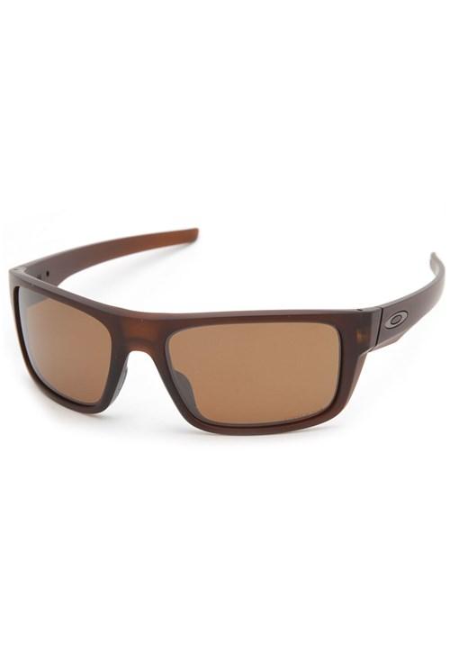 Óculos de Sol Oakley Drop Point Marrom