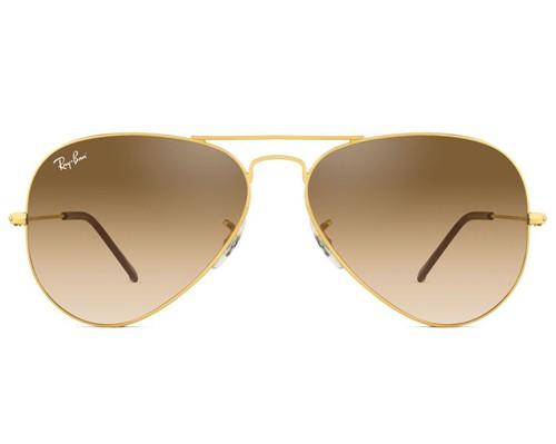 Óculos de Sol Ray Ban Aviador RB3025L 001/51-55