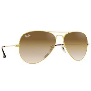 Óculos de Sol Ray Ban Aviator RB3025L-001/51-55 - Dourado