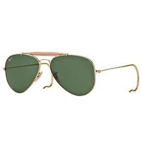 Óculos de Sol Ray Ban Caçador RB3030 L0216 - Amarelo Ouro - Único