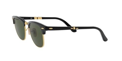 Óculos de Sol Ray-Ban Clubmaster Dobra0vel RB2176 Preto