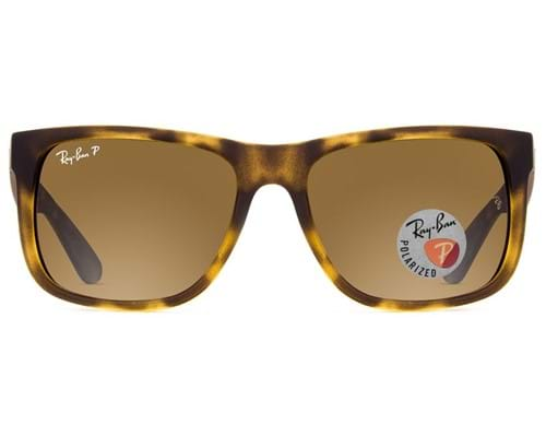 Óculos de Sol Ray Ban Justin Polarizado RB4165L 865/T5-55