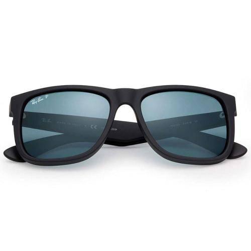Óculos de Sol Ray Ban Justin Rb4165l 622/2v Polarizado - Ray Ban