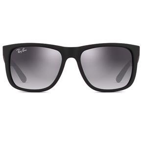 Óculos de Sol Ray Ban Justin RB4165L 601/8G-57 - Preto Fosco - Único