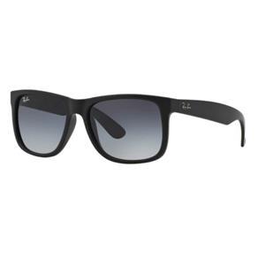 Oculos de Sol Ray Ban Justin Rb4165L 601/8G Lente Degradê - PRETO - ÚNICO
