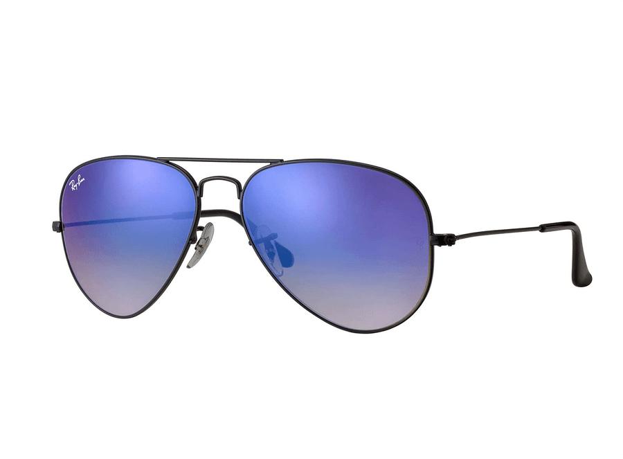 Óculos de Sol Ray Ban Rb3025L 002/4O (Azul, Preta, Espelhadas)