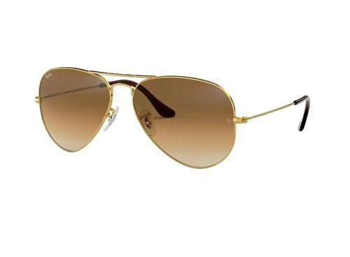 Óculos de Sol Ray Ban Rb3025L 001/51 (Marrom, Dourada)