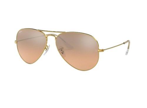 Óculos de Sol Ray Ban Rb3025L 001/3E (Rosa, Dourada, Espelhadas)