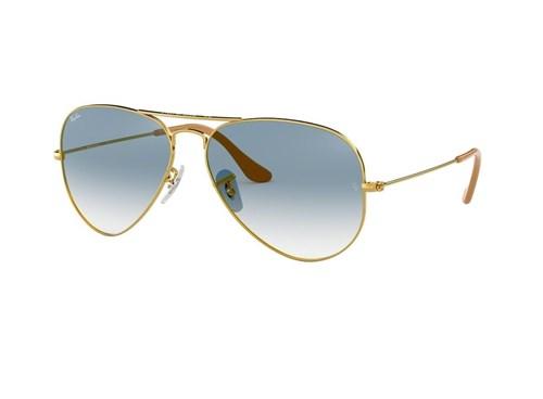 Óculos de Sol Ray Ban Rb3025L 001/3F (Azul, Dourada)
