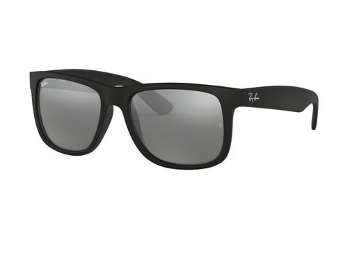 Óculos de Sol Ray Ban Rb4165L 622/6G (Cinza, Preta, Espelhadas)