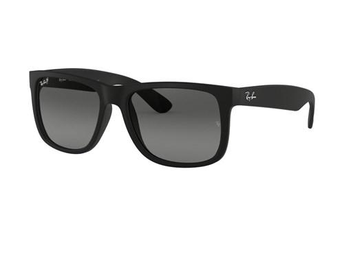 Óculos de Sol Ray Ban Rb4165L 622/t3 (Cinza, Preta, Polarizadas)