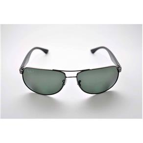 Óculos de Sol Ray Ban RB3502 Polarizado Grande Chumbo