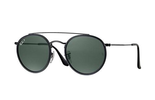 Óculos de Sol Ray-Ban Round Double Bridge Preto