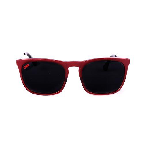 Tudo sobre 'Óculos de Sol Unissex Vinho - Lente Cinza'
