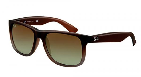 Óculos Justin Marron RB4165L Tamanho 55 - Ray Ban