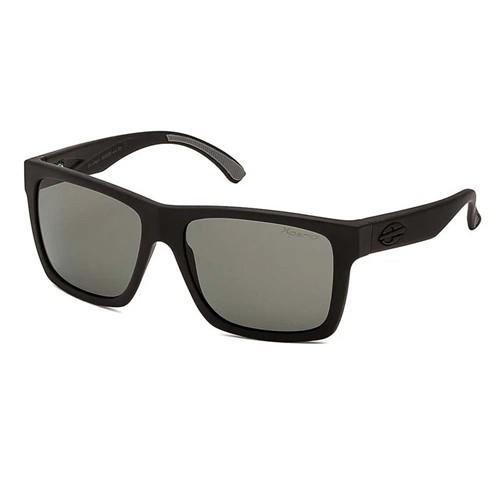 Óculos Mormaii San Diego Preto Fosco/Lente Cinza G15 POL M0009A1489 UN