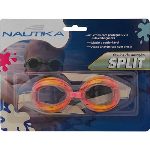 Tudo sobre 'Óculos de Natação Split Ntk Rosa e Verde'