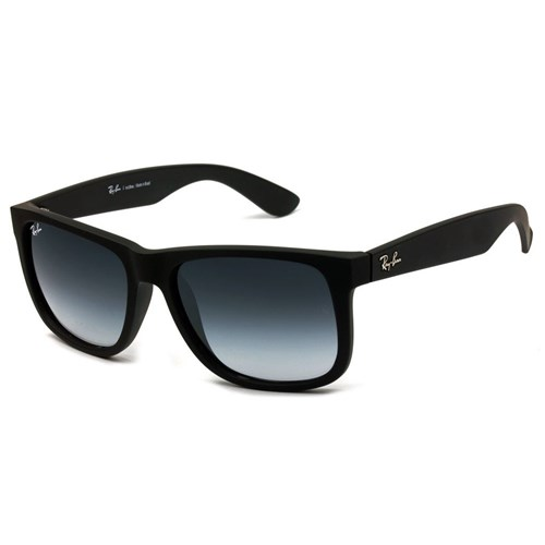 Óculos Ray-Ban Justin Rb4165 55 - Preto Fosco (Preto)