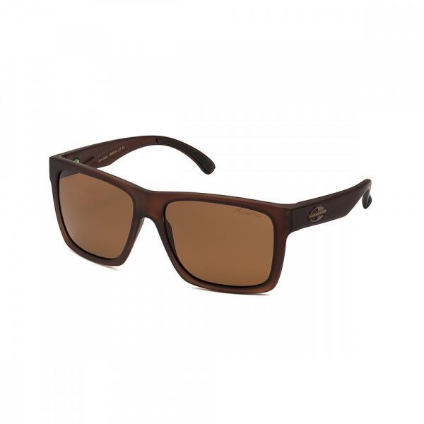 Oculos Sol Mormaii San Diego Marrom Translucido Fosco L Marrom Po