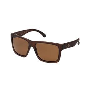 Óculos Sol Mormaii San Diego Translucido Fosco L Marrom Po - Marrom