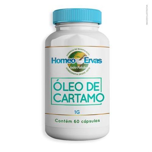 Óleo de Cartamo 1.000Mg 60 Cápsulas