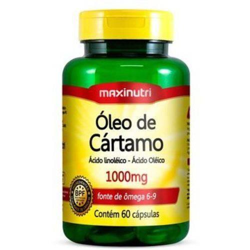 Óleo de Cártamo - 120 Cápsulas - Maxinutri