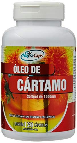 Óleo de Cártamo - 120 Cápsulas - NutraCaps, Nutracaps