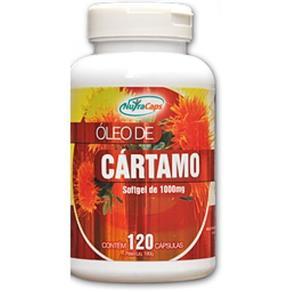 Óleo de Cártamo - 120 Cápsulas - Nutracaps