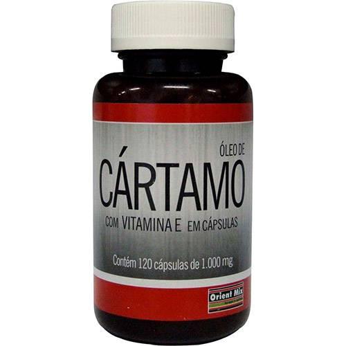 Óleo de Cártamo - 120 Cápsulas - Orient Mix