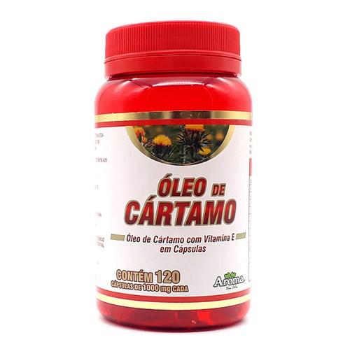 Óleo de Cártamo - 1000mg - 120 Cápsulas