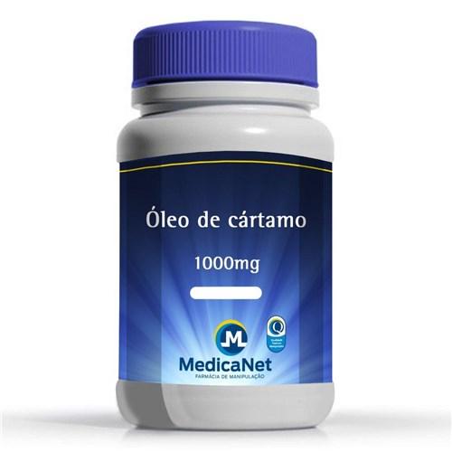 Óleo de Cártamo 1000mg C/60 Cápsulas