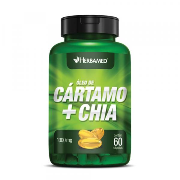 Óleo de Cártamo + Chia Herbamed - 60 Caps