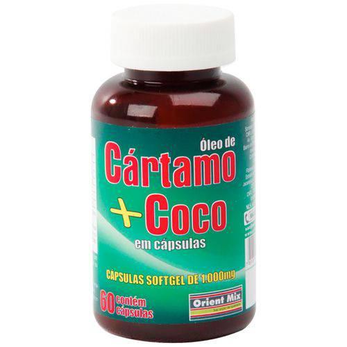 Óleo de Cártamo + Coco - 60 Cápsulas - Orient Mix