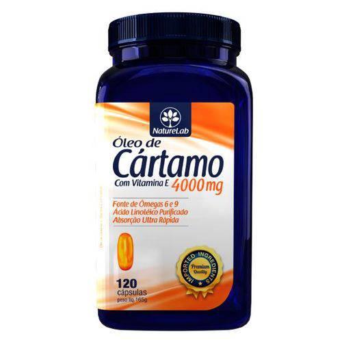 Óleo de Cártamo e Vitamina e (120 Cápsulas)