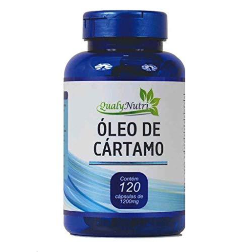 Oleo de Cartamo e Vitamina e 120Capsulas 1450Mg