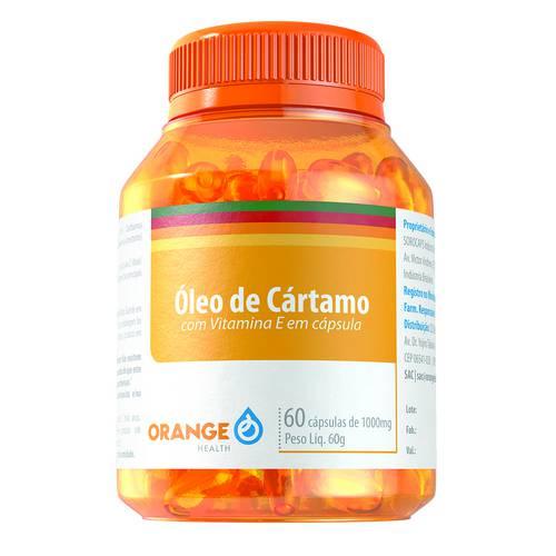 Óleo de Cartamo e Vitamina e - 60 Capsulas - 1500mg