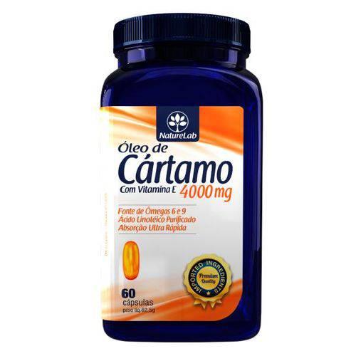 Óleo de Cártamo e Vitamina e (60 Cápsulas)