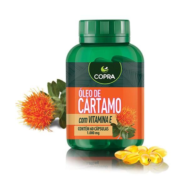 Óleo de Cártamo + Vitamina e 60 Cápsulas - Copra