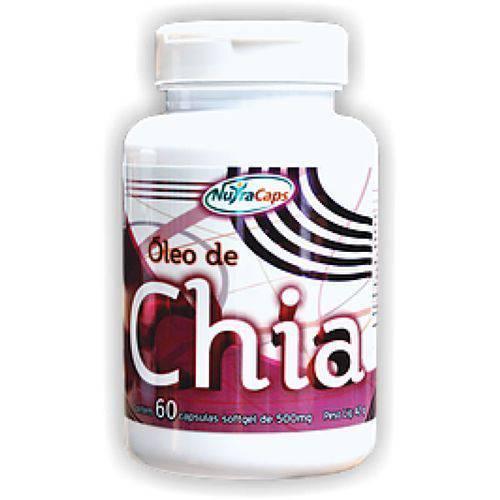 Óleo de Chia - 60 Cápsulas - NutraCaps