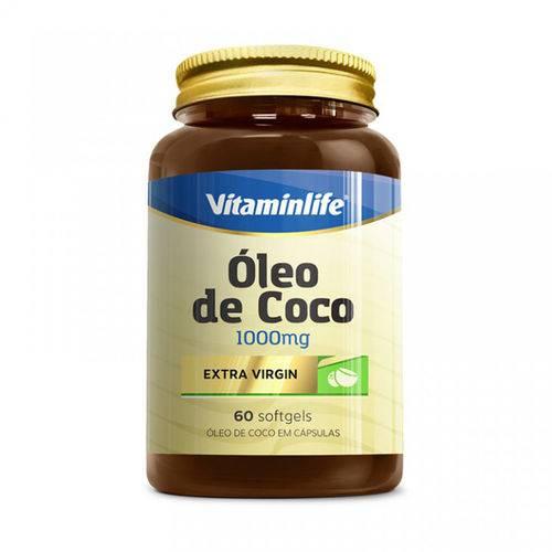 Oleo de Coco - 60 Capsulas - Vitamin Life
