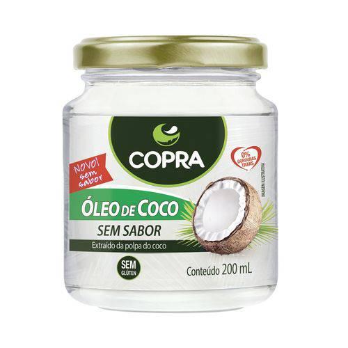 Óleo de Coco Copra - 200 Ml Sem Sabor