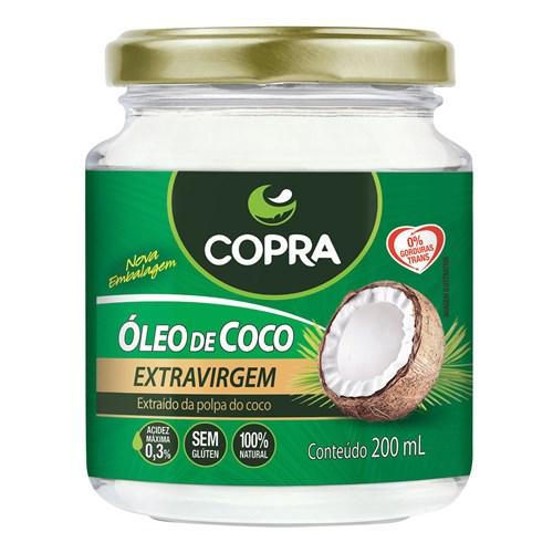 Óleo de Coco Copra Extravirgem 200Ml
