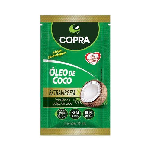 Óleo de Coco Copra Extravirgem Sachê 15ml