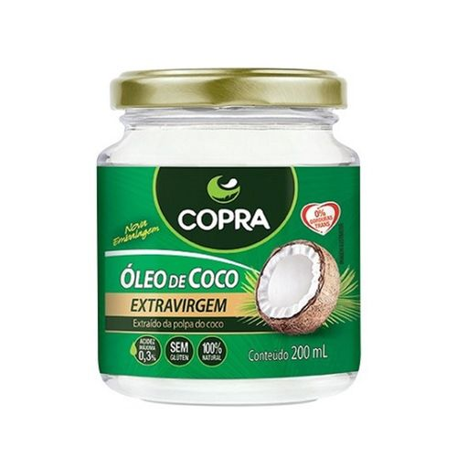 Óleo de Coco Extra Virgem 200ml 200ml