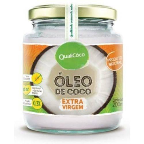 Óleo de Coco Extra Virgem 200Ml Qualicôco