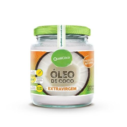Óleo de Coco Extra Virgem 200ml - QualiCôco