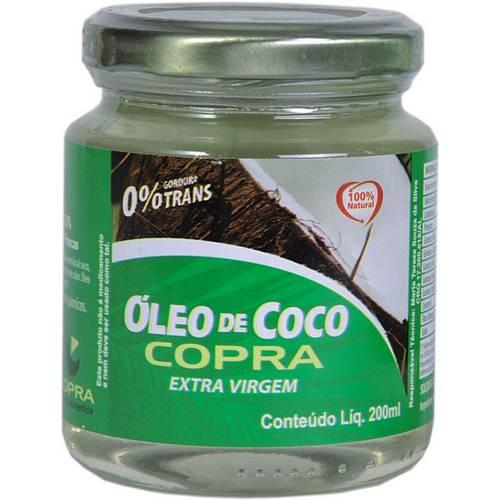 Óleo de Coco Extra Virgem - 200ml